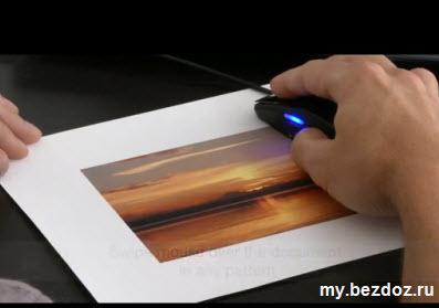 Компьютерная мышь-сканер Brookstone Scanner Mouse